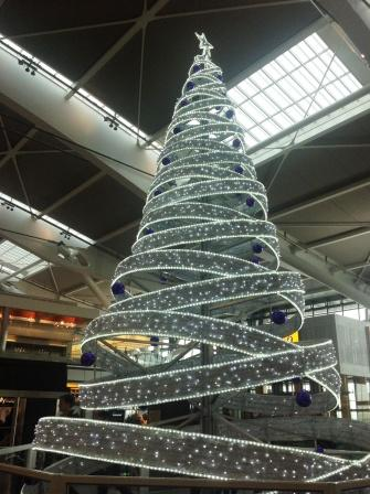 Christmas comes to Heathrow