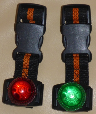 Dink's new nav lights