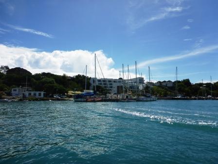 Saying goodbye to Prickly Bay marina