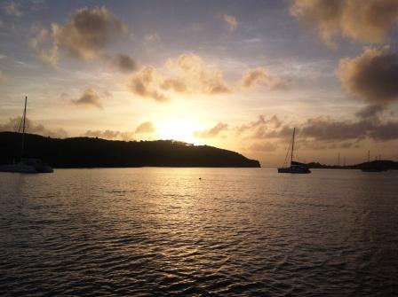 Sunrise at Clarkes Court Bay