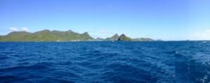Coastline of Union Island