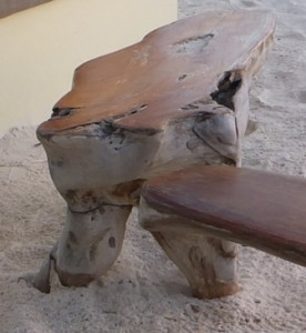 Driftwood tables