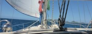 Enjoying the sail