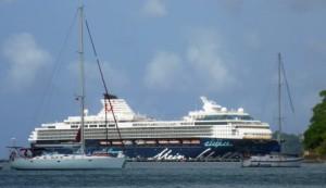German cruise ship