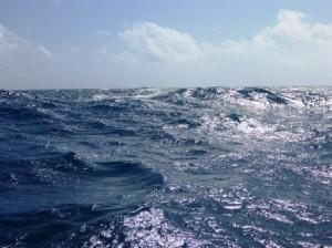 Quite big seas