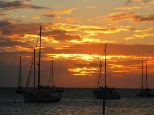 Dominca sunset 3