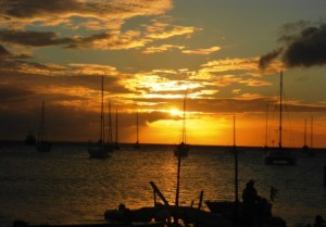 Dominica sunset 2