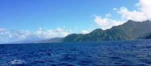 Leaving Dominica behind