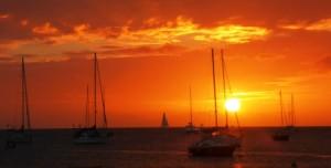 St Lucia sunset 1