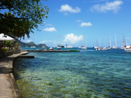 Bequia boardwalk