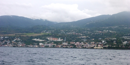 Built-up Guadeloupe