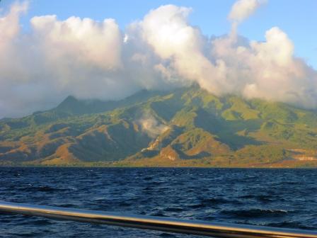 Coast of Martinique