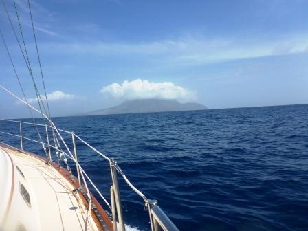 First view of Montserrat