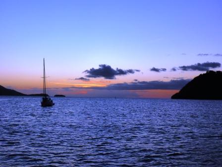 Iles de Saintes sunset