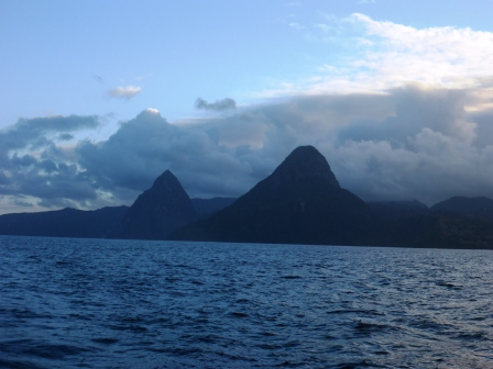 Leaving the Pitons behind