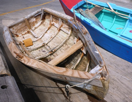 Local handbuilt boats