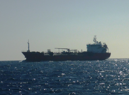 My first tanker of the trip