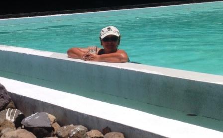Pool's open