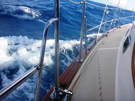 Sailing beautifully