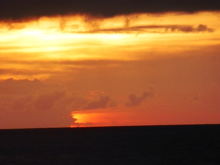 Stormy Bequia sunset