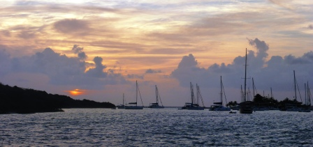 BVI sunset