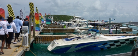 Boats start arriving