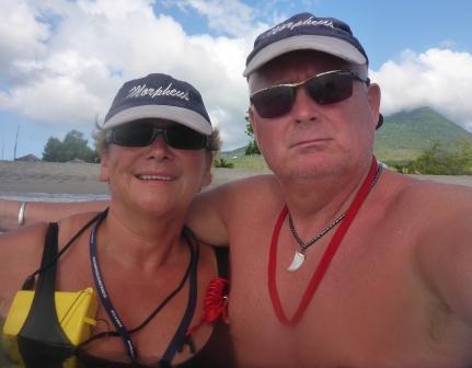 Bobbing in Nevis
