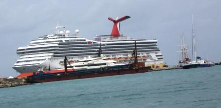 Carnival ship in