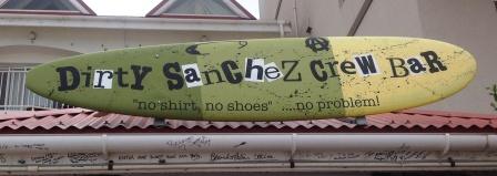 Dirty Sanchez crew bar