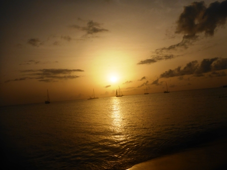 Final Nevis sunset