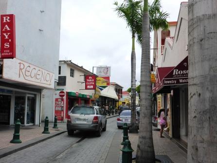 Main shopping street