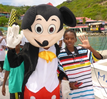 Mickey was there too