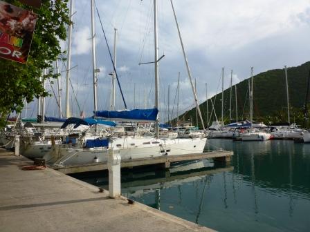 Nanny Cay marina 1