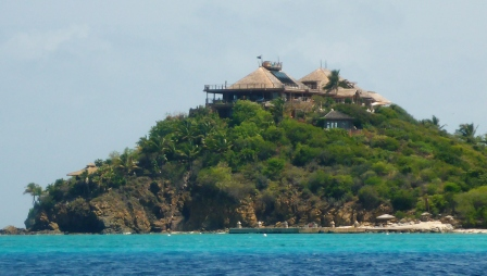 New main house on Necker
