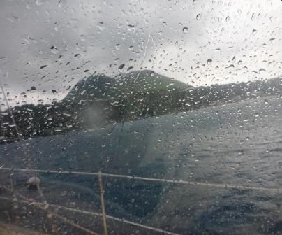 Raining again.....
