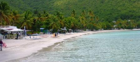 Beach at Cane Garden Bay