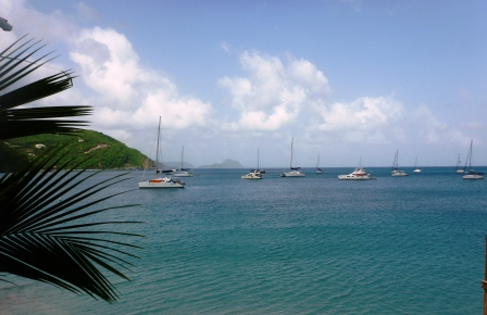 Cane Garden Bay anchorage