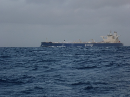 Dorra passing alongside