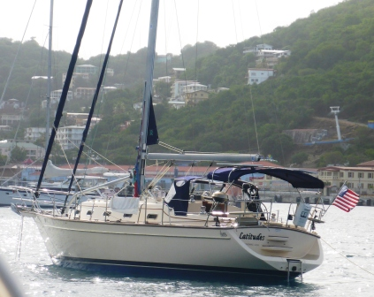 Latitudes at anchor