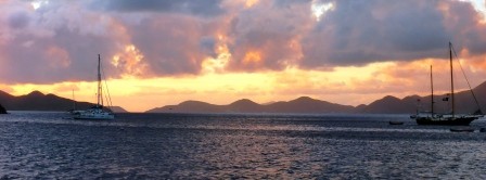 Moody sunset in the Bight