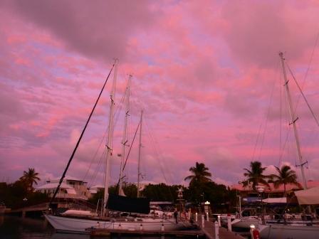 Nanny Cay sunset