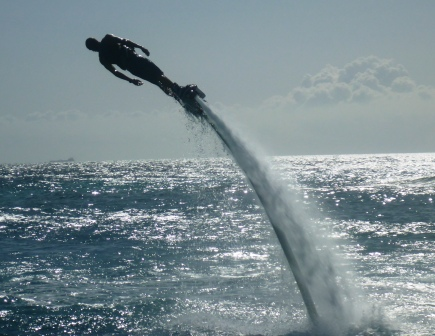 Flyboarding display 2