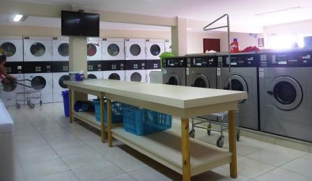 Large modern laundry