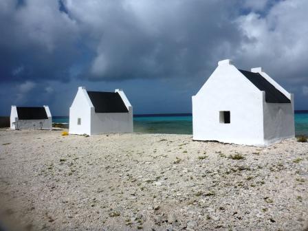 Slave huts 1