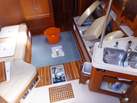Damp rid & bomb the boat