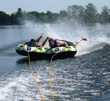 Me and Danny tubing