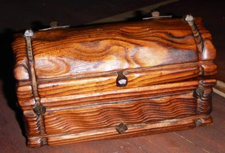 Pirate chest for the bill