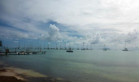 Anegada anchorage