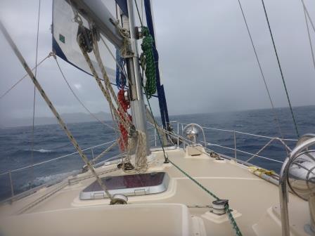 Bit of a wet sail