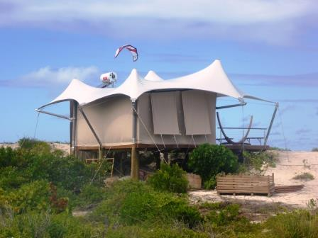 Glamping Anegada style